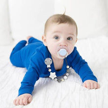 SiliBeads Silicone Pacifier Clip- Star
