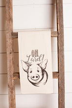 Oh Lard! Pig Tea Towel