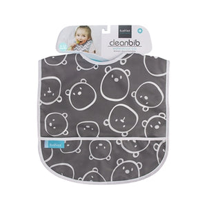 Cleanbib | Charcoal Bears