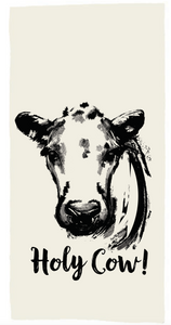 Holy Cow! Tea Towel
