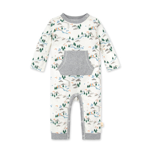 Camp Grounds Organic Baby Jumpsuit