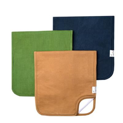 Ridge Burp Cloth Set - 3 Pack
