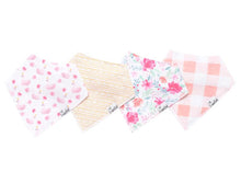 June Baby Bandana Bib- 4 Pack
