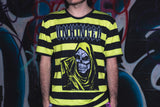 UNHINGED GRIM REAPER T-SHIRT (Black/Yellow)