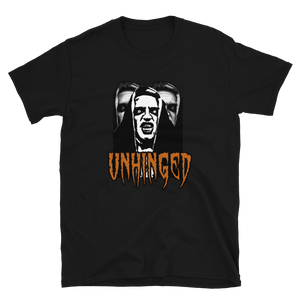 UNHINGED HAUNTED NUN T-SHIRT (Black)