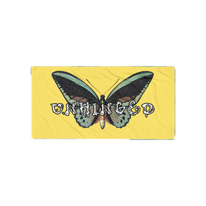 UNHINGED BUTTERFLY TOWEL