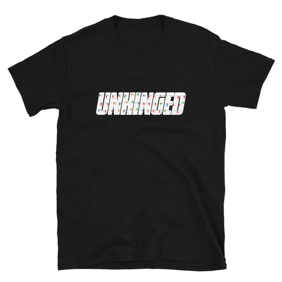 UNHINGED LIGHTS T-SHIRT (Black)