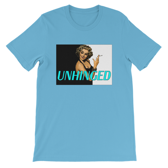 UNHINGED SIMPLE SMOKE T-SHIRT (Blue)