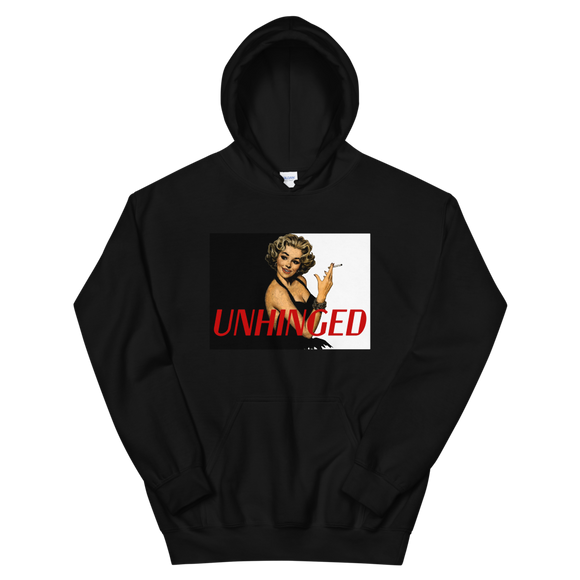 UNHINGED SIMPLE SMOKE HOODIE (Black)
