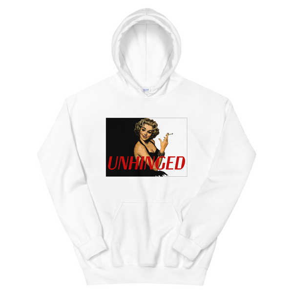 UNHINGED SIMPLE SMOKE HOODIE (White)