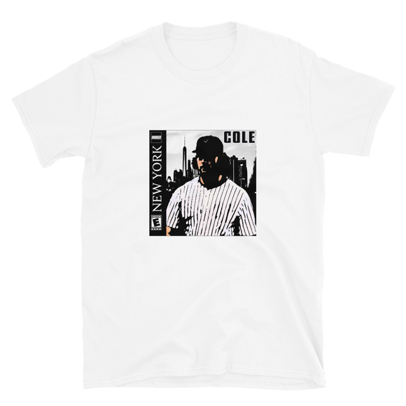 Gerrit Cole Retro Video Game T-Shirt (White)