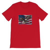 UNHINGED EAGLE T-SHIRT (Red)