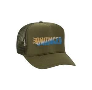 UNHINGED FLAME ENGINE HAT (Military Green)