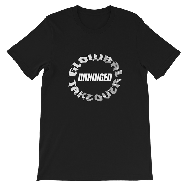 UNHINGED TAKEOVER CIRCLE T-SHIRT (Black)