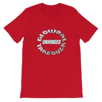 UNHINGED TAKEOVER CIRCLE T-SHIRT (Red)