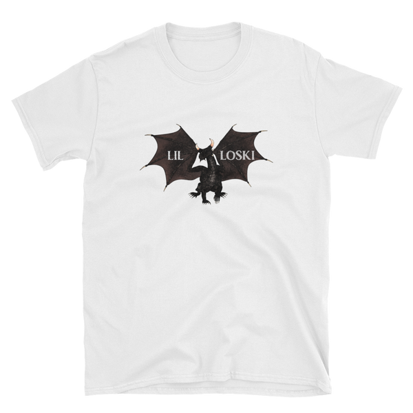 LIL LOSKI DRAGON T-SHIRT (White)