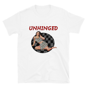 UNHINGED SIMPLE PIN UP T-SHIRT (White)