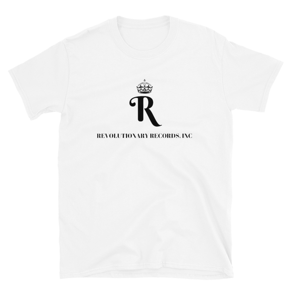 REVOLUTIONARY RECORDS T-SHIRT (White)