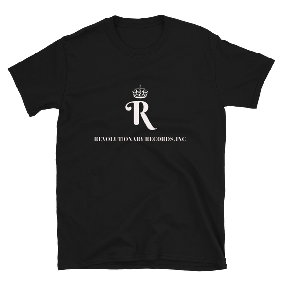 REVOLUTIONARY RECORDS T-SHIRT (Black)