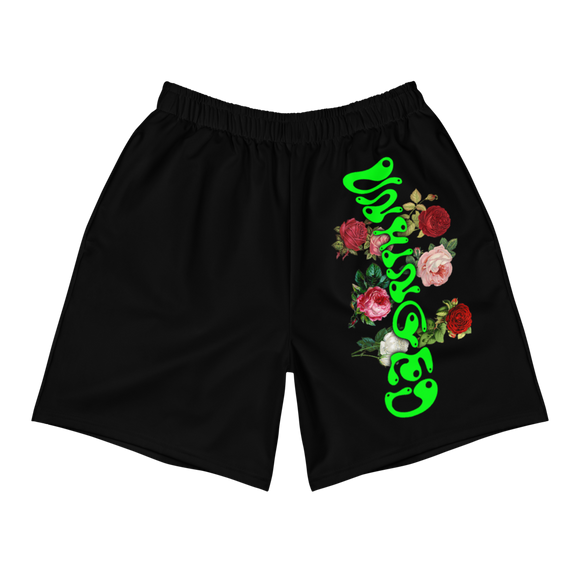 UNHINGED ROSES SHORTS