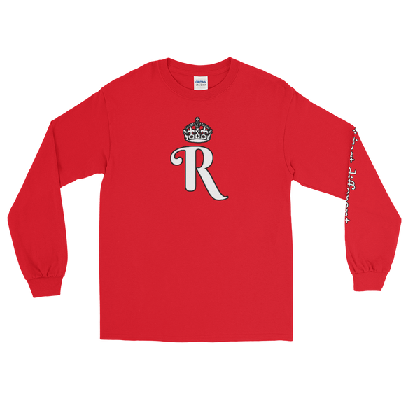 LYDELL R LOGO LONG SLEEVE (Red)