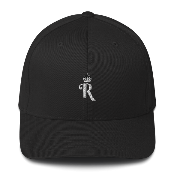LYDELL R LOGO BASEBALL HAT (Black)