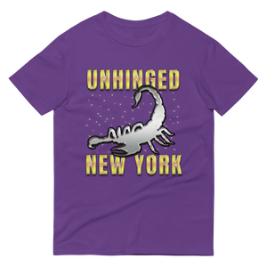 UNHINGED SCORPION T-SHIRT (Purple)