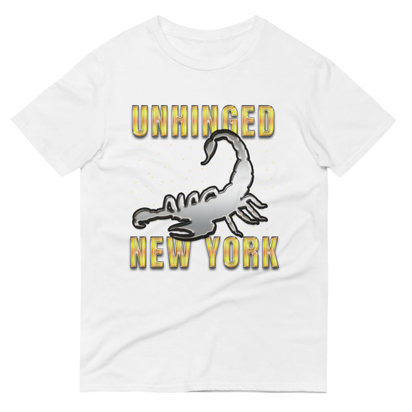 UNHINGED SCORPION T-SHIRT (White)