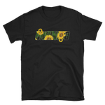 UNHINGED SUNFLOWER T-SHIRT (Black)