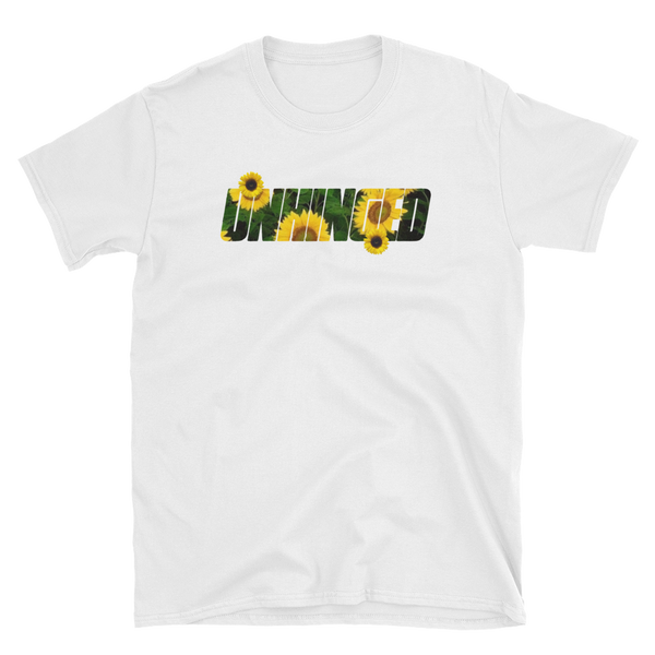 UNHINGED SUNFLOWER T-SHIRT (White)