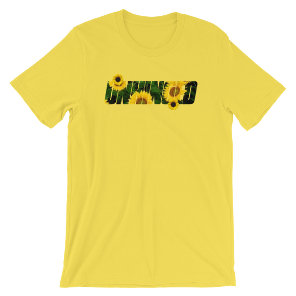 UNHINGED SUNFLOWER T-SHIRT (Yellow)