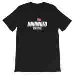 UNHINGED NEW YORK FLAG T-SHIRT (Black)