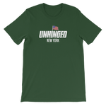 UNHINGED NEW YORK FLAG T-SHIRT (Green)