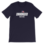 UNHINGED NEW YORK FLAG T-SHIRT (Navy)
