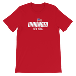 UNHINGED NEW YORK FLAG T-SHIRT (Red)