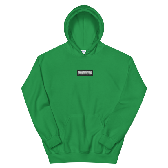 UNHINGED EMBROIDERED HOODIE (Green)