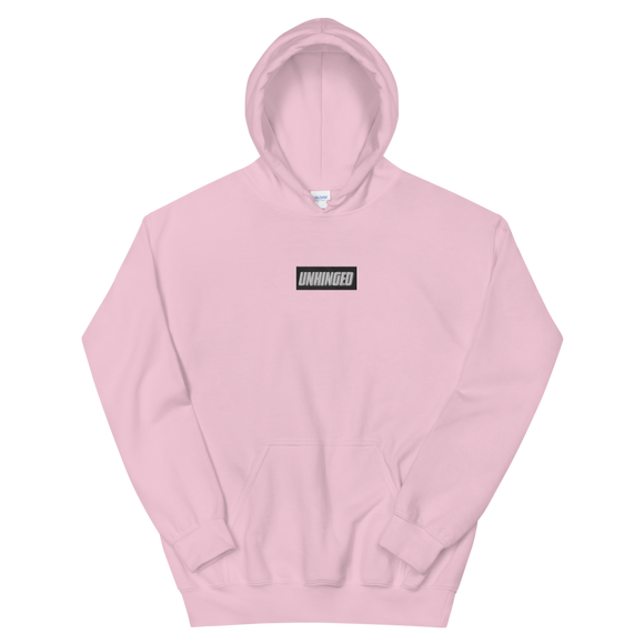 UNHINGED EMBROIDERED HOODIE (Pink)
