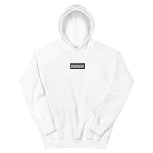UNHINGED EMBROIDERED HOODIE (White)