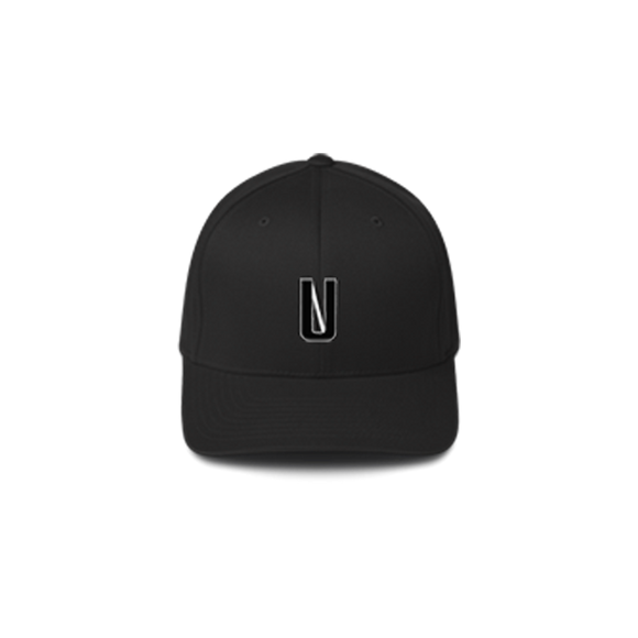 UNHINGED ALTERNATE LOGO BASEBALL CAP (Black)