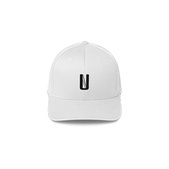 UNHINGED ALTERNATE LOGO BASEBALL CAP (White)
