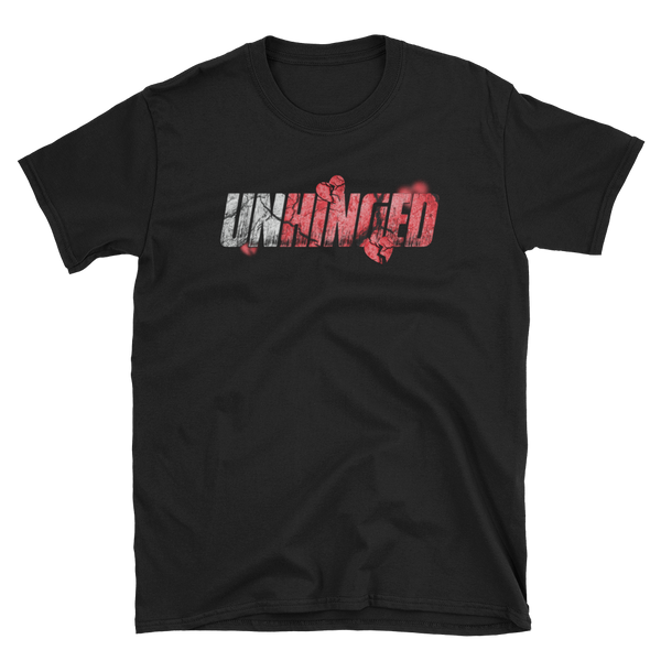 UNHINGED HEARTBREAK T-SHIRT (Black)