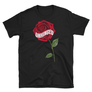 UNHINGED ROSE T-SHIRT (Black)