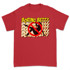 SWAVE BORING BETTY T-SHIRT (Red)