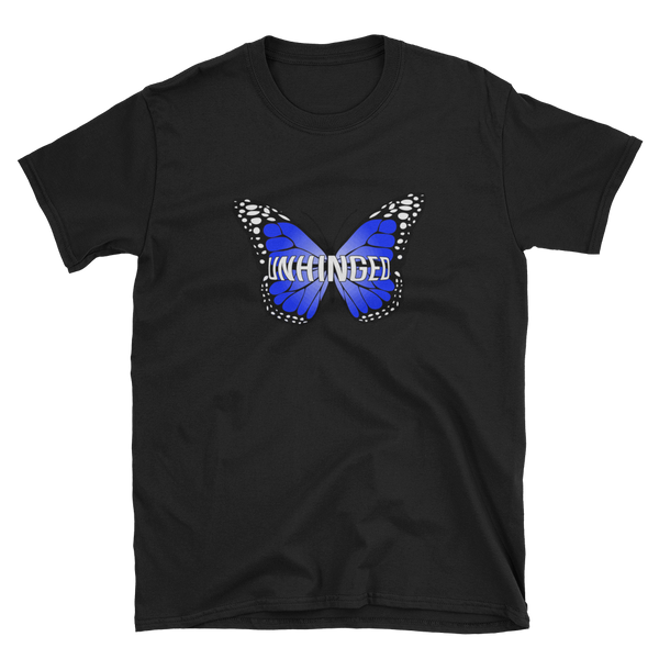 UNHINGED BUTTERFLY T-SHIRT (Black)