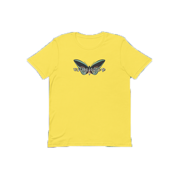 UNHINGED BUTTERFLY T-SHIRT (Yellow)