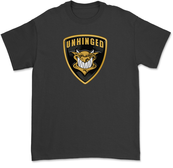 UNHINGED DEMON LAMBO T-SHIRT (Black)