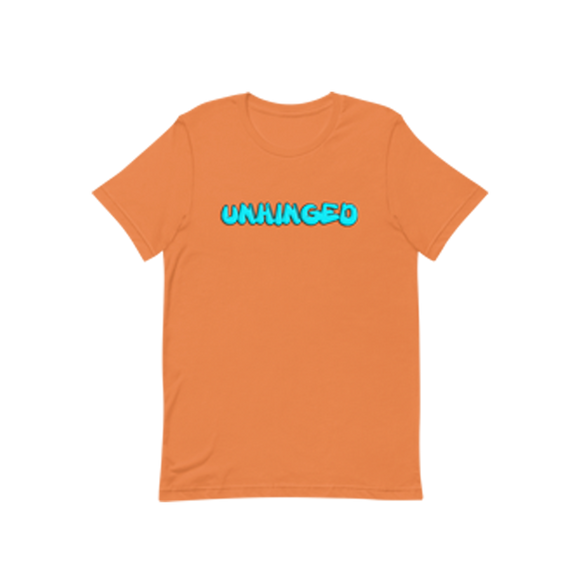 UNHINGED GRAFFITI T-SHIRT (Orange)