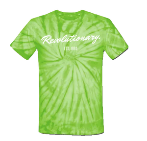 REVOLUTIONARY T-SHIRT (Green Tie Dye)