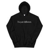 IT'S JUST DIFFERENT HOODIE (Black)
