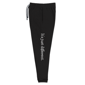 IT'S JUST DIFFERENT JOGGERS (Black)